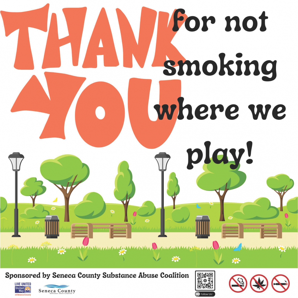 Thank You for not smoking where we play