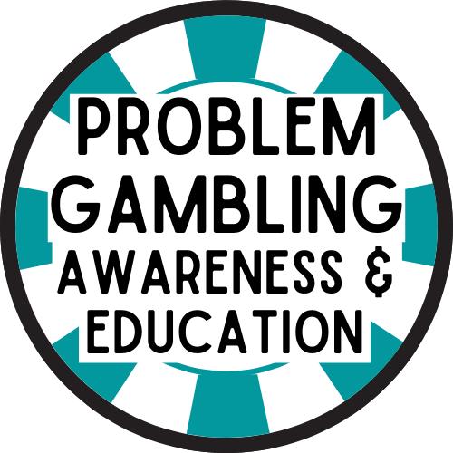 Problem Gambling Awareness & Education logo