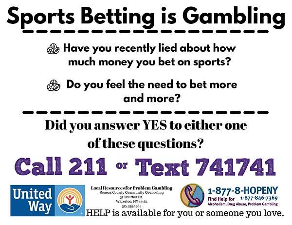 Sports Betting is Gambling